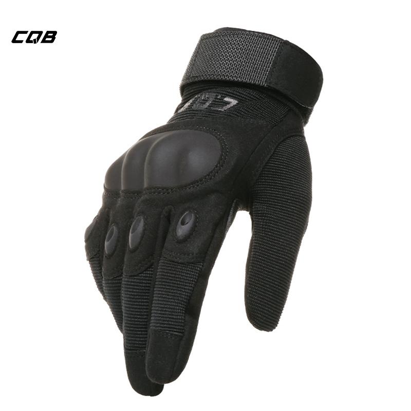 [해외]CQB 옥외 스포츠 전술 밀리터리 장갑은 하이킹 등반 훈련 자전거를마이크로 화이버 남자의 기관 자전차 장갑을 보호한다/CQB Outdoor Sports Tactical Military Gloves Protect Microfiber Men`s Motorcycle