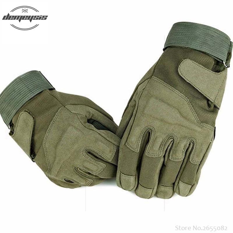 [해외]야외 사냥 장갑 전체 손가락 군대 페인트 볼 슈팅 장갑 비 - 슬립 하이킹 사이클을오토바이 장갑을 보호/Outdoor Hunting Gloves Full Finger Military Army Paintball Shooting Gloves Non-slip Prot