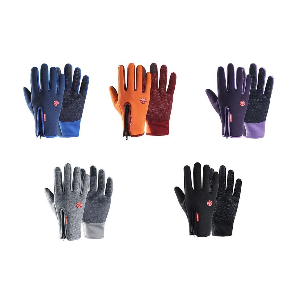 [해외]방수 장갑 야외 승마 남자 겨울 터치 스크린 방풍 여자 지퍼 스포츠 따뜻한 벨벳 등산 스키/Waterproof Gloves Outdoor Riding Men`s Winter Touch Screen Windproof Female Zipper Sports Warm