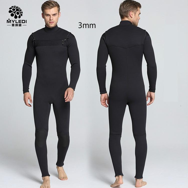 [해외]네오프렌 3mm 남자 다이빙 슈트 서핑 옷 가슴 오프닝 전에 지퍼 차가운 따뜻한 수영복 남성 크기 S-XXL/네오프렌 3mm 남자 다이빙 슈트 서핑 옷 가슴 오프닝 전에 지퍼 차가운 따뜻한 수영복 남성 크기 S-XXL