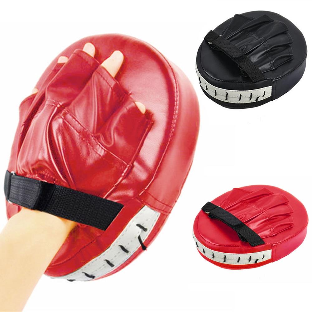[해외]권투 미트 훈련 초점 대상 펀치 패드 장갑 MMA 가라데 전투 태국어 킥/Boxing Mitt Training Focus Target Punch Pad Glove MMA Karate Combat Thai Kick