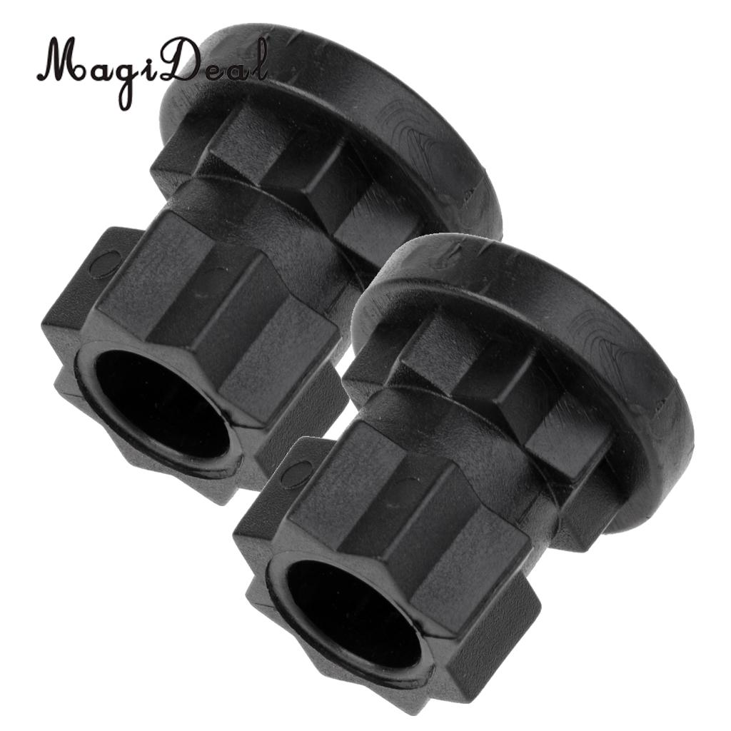 [해외]/MagiDeal 2 Pieces Ram Mount Track Mount Base Replacement for Kayak Boat Fishing Rod