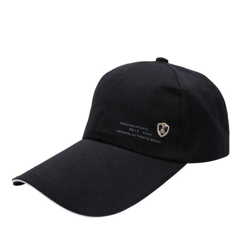 [해외]/UniSports Women Men Hats Lengthened Brimmed Golf Cap Outdoor Adjustable Hip-Hop Dance Hat