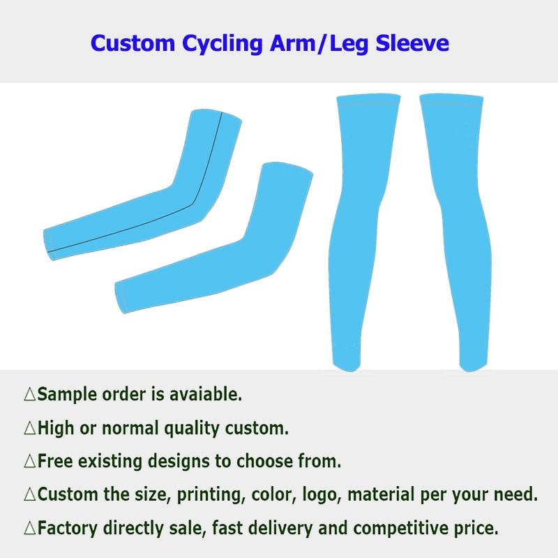 [해외]Factory Custom Men Women Cycling Arm Leg Sleeves Cycling Running Bike UV Sun Protection Sports Leg Protective Arm Sleeve Warmers/Factory Custom Me
