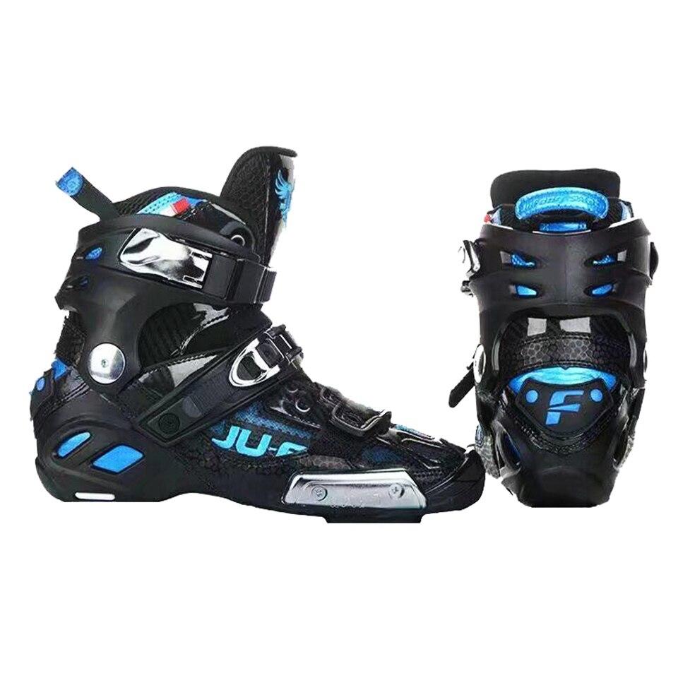 [해외]Origional war wolf up boots slalom patines 스피드 인라인 스케이트 어퍼 슈즈 프로페셔널 레이싱 용 하이 앵클 세미 솔프 165mm/Origional war wolf up boots slalom patines 스