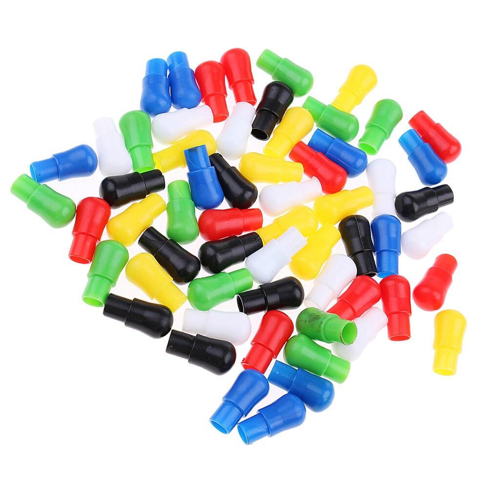 [해외]중국 체커 보드 게임을위한 60 조각 23mm 혼합 색상 교체 플라스틱 못/중국 체커 보드 게임을위한 60 조각 23mm 혼합 색상 교체 플라스틱 못