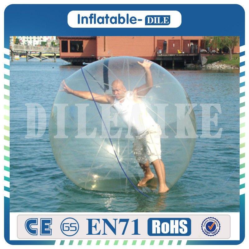[해외]?2m / 6.6ft 직경 0.8 mm PVC 풍선 물 산책 볼 물 풍선 워킹 물에/ 2m/6.6ft Diameter 0.8mm PVC Inflatable Water Walking Ball Water Balloon Walking On Water