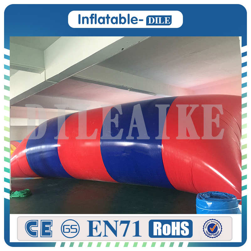 [해외]?0.9mm PVC 7x2m 팽창 식 물 얼룩 / 물 방울 얼룩 용/ 0.9mm PVC 7x2m inflatable water blob/ water jumping blob For