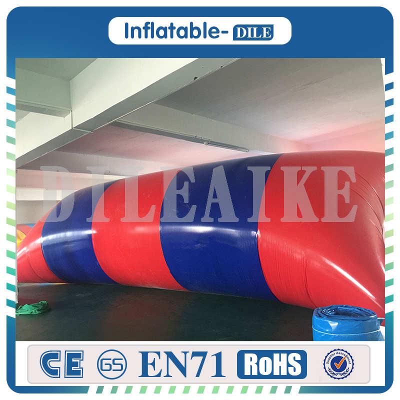 [해외]?0.9mm PVC 7x2m 팽창 식 물 얼룩 / 물 방울 얼룩 용/ 0.9mm PVC 7x2m inflatable water blob/ water jumping blob For