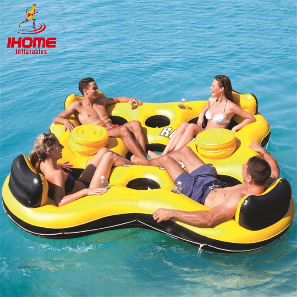 [해외]해양 chaise 라운지 팽창 식 물이 떠있는 물이 떠있는 침대 수영 침대 부동 의자/Marine chaise lounge inflatable water floating row  relax water floating bed  swimming bed floatin