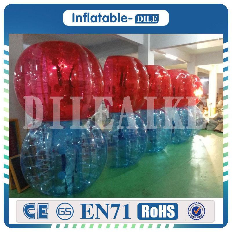 [해외]?1.5m PVC 풍선 범퍼 거품 축구 볼 거 대 한 인간 햄스터 볼 성인과 어린이에 대 한/ 1.5m PVC Inflatable Bumper Bubble Soccer Ball Giant Human Hamster Ball For Adults And Kids