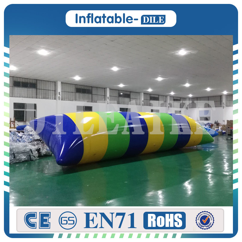 [해외]?0.9mm PVC 5x2m 풍선 점프 가방 물 투석기 물방울 유령을물방울/ 0.9mm PVC 5x2m Inflatable Jump Bag Water Catapult Blob Water Blob For Amusement