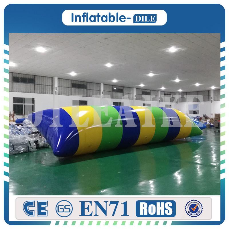 [해외]?0.9mm PVC 5x2m 풍선 점프 가방 물 투석기 물방울 유령을물방울/ 0.9mm PVC 5x2m Inflatable Jump Bag Water Catapult Blob Water Blob For Amusement