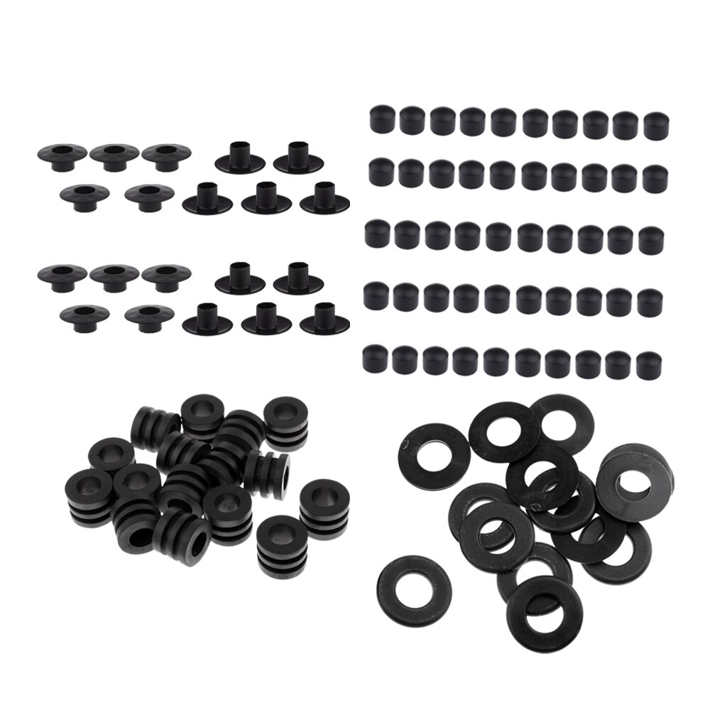 [해외]Washers + End Caps +Bumper + Rod Bearing Foosball Table Football Rod Washers Bumpers, Rod Bearing and End Caps/Washers + End Caps +Bumper + Rod Be