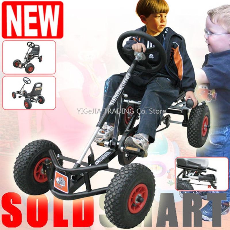 [해외]어린이 12 인치 에어 휠 고무 타이어 페달 카트 이동/어린이 12 인치 에어 휠 고무 타이어 페달 카트 이동