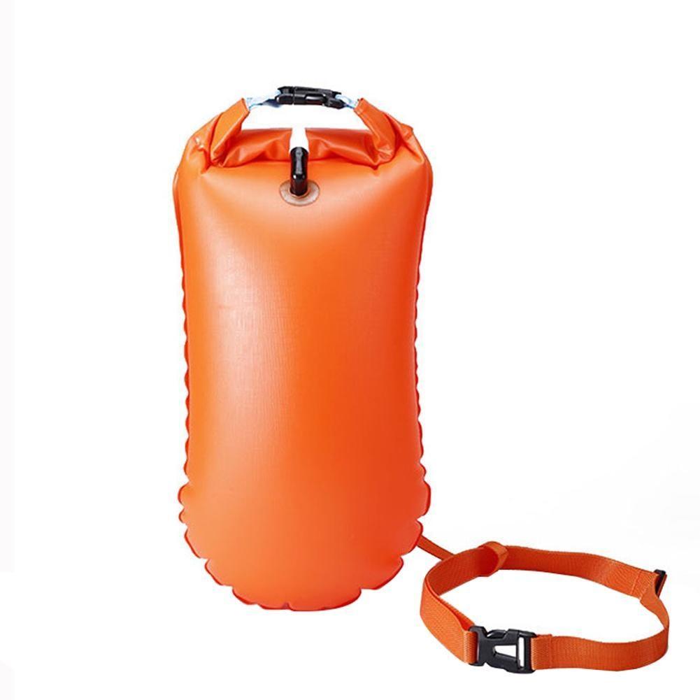 [해외]Inflatable Flotation Bag Life Buoy PVC Waterproof Dry Bag Swimming Backpack Kayak Rafting Drifting Camping Hiking Rucksack/Inflatable Flotation Ba